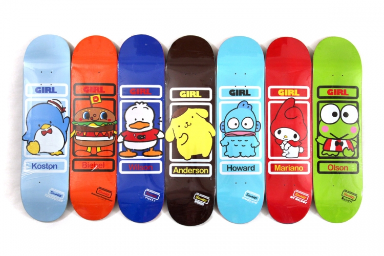 DQM - Girl Skateboards Sanrio Series