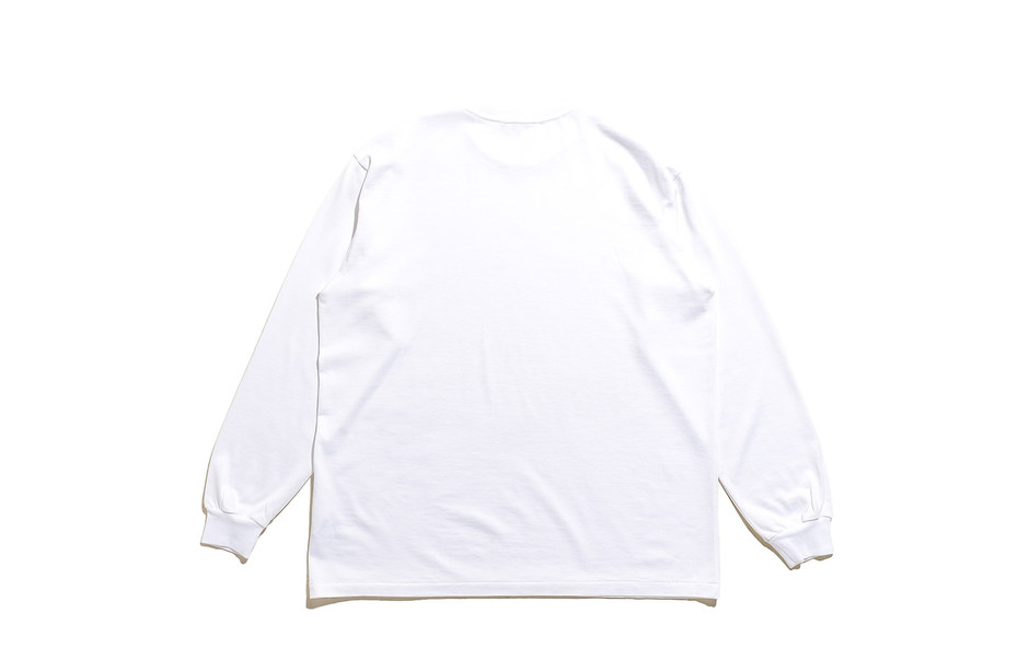 Luster Plaiting L/S Tee-White