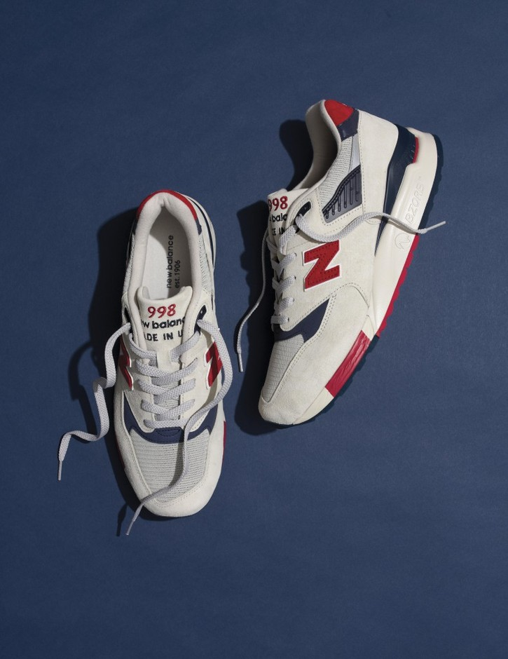 """J.Crew x New Balance Made in USA M998 """"Independence Day"""" 