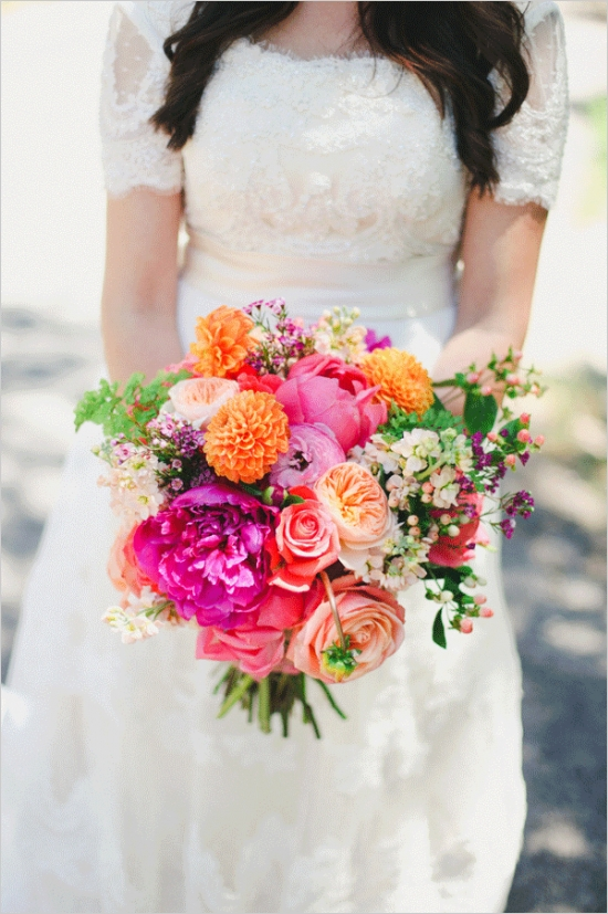 Hot Pink and Purple Two Day Wedding
