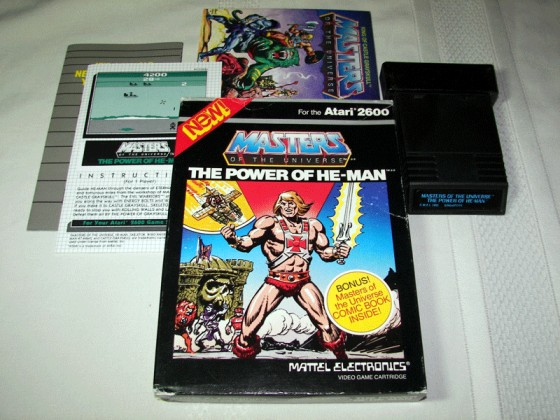 Masters of the Universe: The Power of He-Man, Atari 2600, Not Exist, Buy USA Products Rinkya Stores