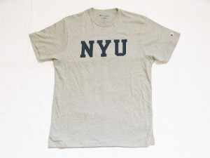 """NYU"" COLLEGE Tee (BINDER NECK) « MADE IN WORLD ONLINE STORE"