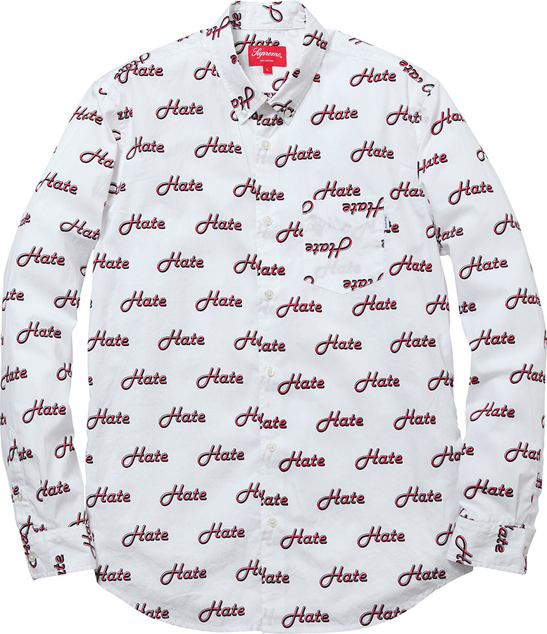 Supreme Hate Shirt