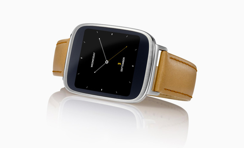 wearable android ASUS zenwatch collaboratively created with google