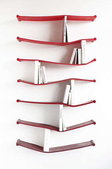 Rubber Shelves for The Sculpture House on the Behance Network