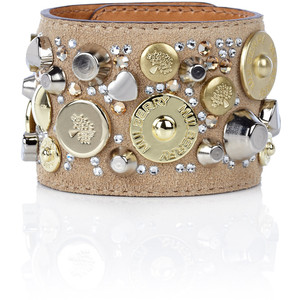 Mulberry Jewelled Cuff - Polyvore