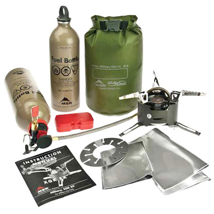 MSR XGK Stove Combo, USMC (free ground shipping) :: All Stoves :: Stoves :: Cooking :: Moontrail