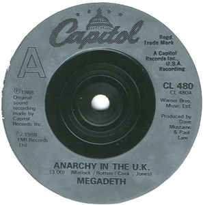 Megadeth - Anarchy In The U.K. at Discogs