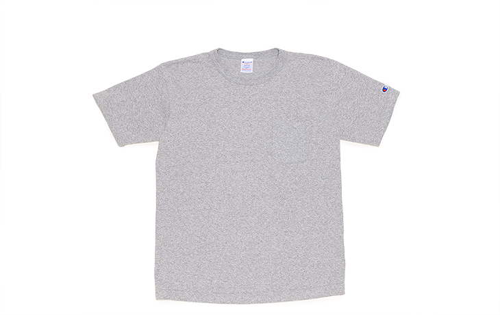 Champion/T1011 Pocket T-Oxford Grey