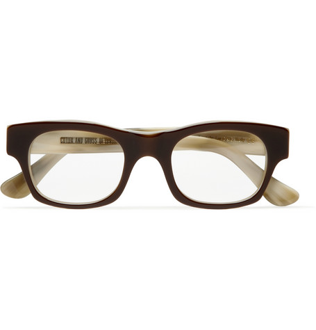 Cutler and Gross Semi Square Optical Glasses | MR PORTER