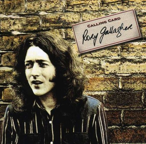 【USED・中古】RORY GALLAGHER (LP) タイトル名:CALLING CARD