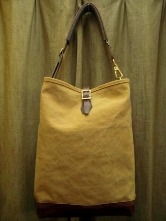 ARTS&CRAFTS / ONE STRAP CARRYALL (AGING CANVAS)の画像 | NEST authentic dry goods