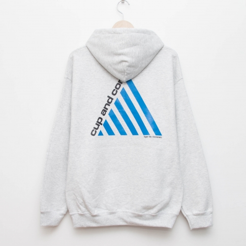 6th Anniversary Hoodie - Ash - cup and cone WEB STORE