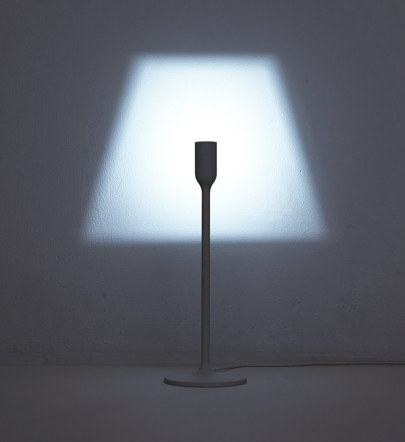 YOY design studio casts light to create lamp shade silhouette