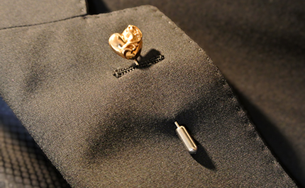 22K LAPEL PIN HEART | Chrome Hearts Collector's Blog