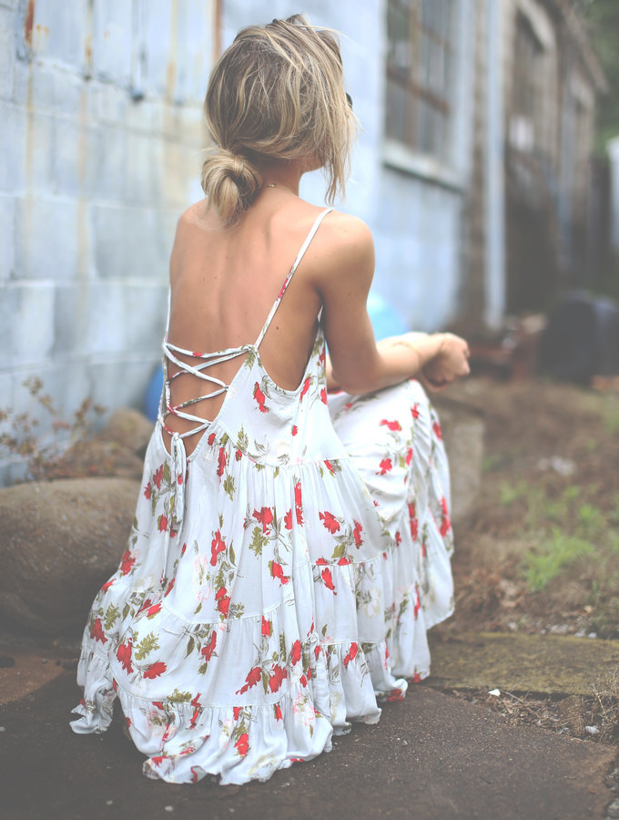 Free People Circle of Flowers Dress – NAWO