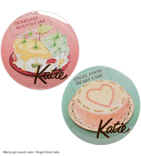 ACCESSORIES - BADGE 100 round 2Pset - Katie Official Web Store - Katie Official Web Store