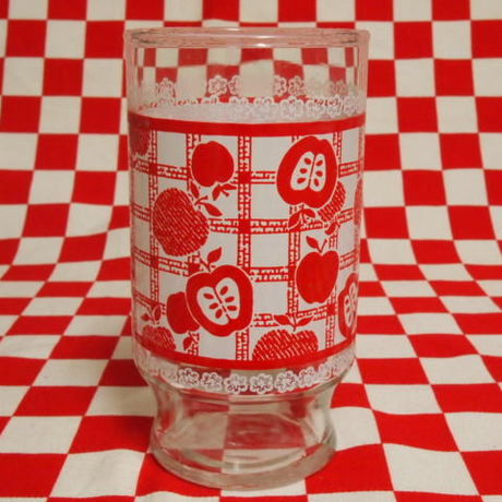 Anchor Hocking Red Apple Tumbler (M) | Jadeite Magic Gallery
