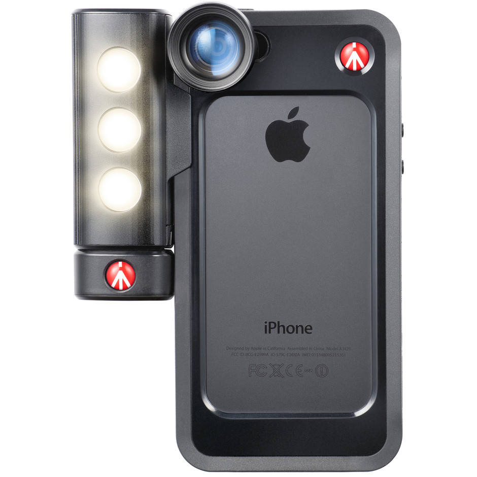 KLYP+ バンパーブラック IPhone 5/5S用 MCKLYP5S-B - For IPhone® 5/5S | Manfrotto