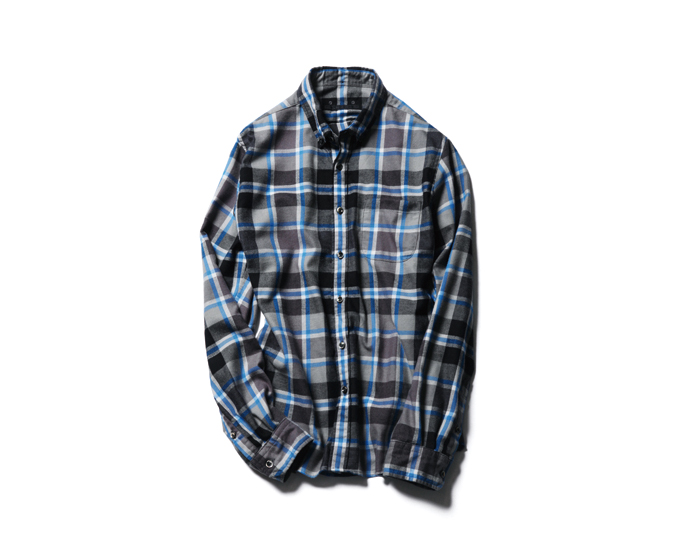 SOPHNET. | PRODUCT | THERMOLITE FLANNEL CHECK B.D SHIRT
