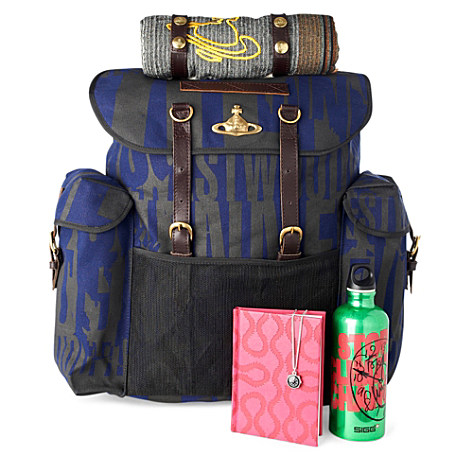 Westwood print Urban Survival backpack - VIVIENNE WESTWOOD - EXCLUSIVE TO SELFRIDGES - Menswear | selfridges.com