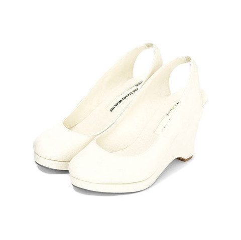 Slow and Steady Wins the Race — Wedge Slingback - Natural