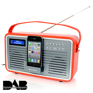 View Quest Retro DAB and iPhone Radio - buy at Firebox.com