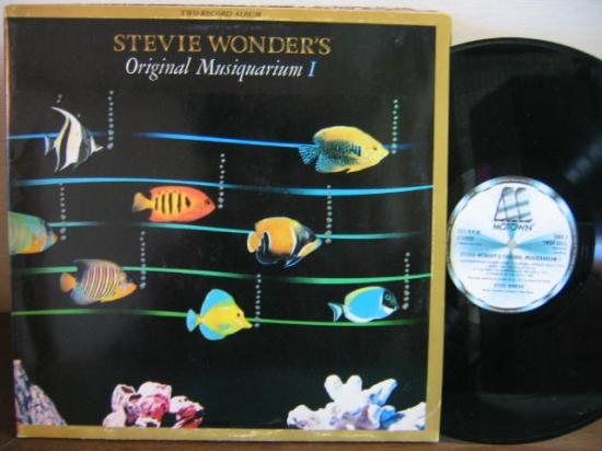 STEVIE WONDER「ORIGINAL MUSIQUARIUM I」LP - Used Records
