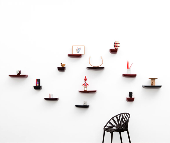 'Corniches' shelving system by Ronan and Erwan Bouroullec for Vitra (CH) @ Dailytonic