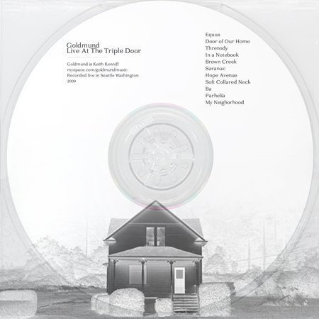 Unseen — Goldmund | Live At The Triple Door | CD Mint Julep | Songs About Snow (CD-R) (TEMPORARILY SOLD OUT)