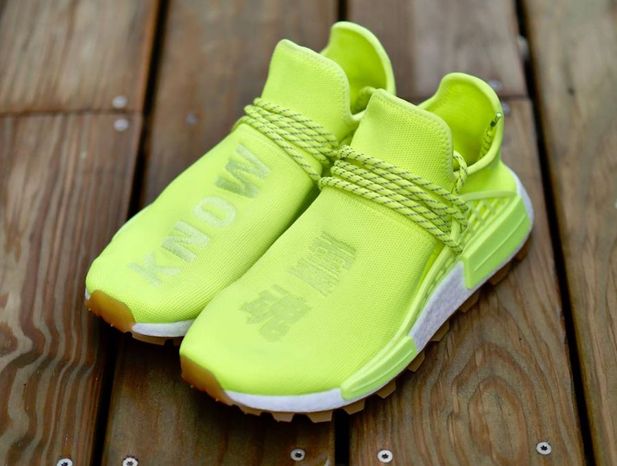 adidas NMD Hu Trail Know Soul Volt Gum Release Date - SBD