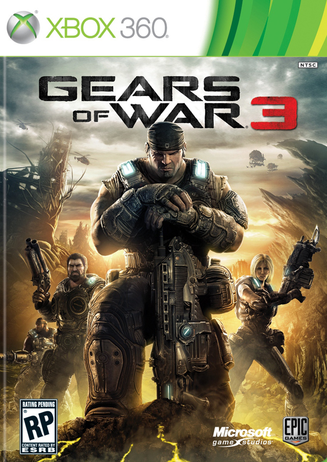 Gears of War 3 Boxshot