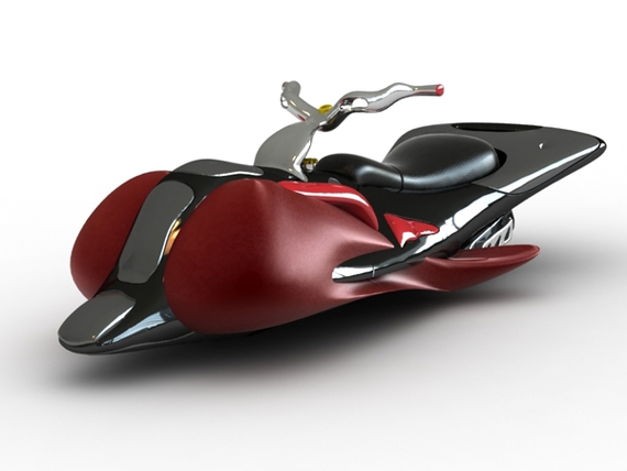 Five best flying motorbike concepts