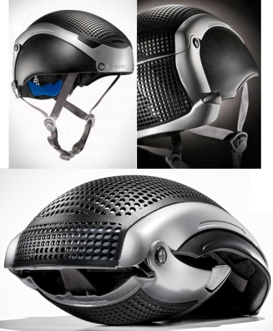 Folding Bicycle Helmet - Beetle Cycle by Pulsium Designs | Be Sportier