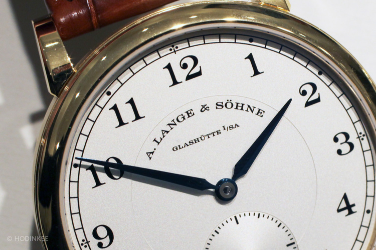 Hands-On With The New A. Lange & Söhne 1815, Downsized To 38.5mm For 2014 — HODINKEE - Wristwatch News, Reviews, & Original Stories