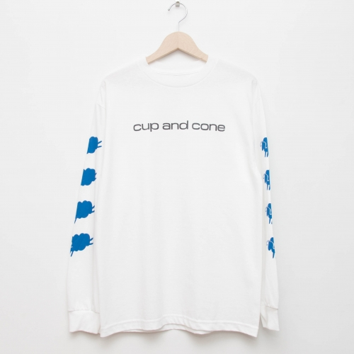 CD L/S - White - cup and cone WEB STORE