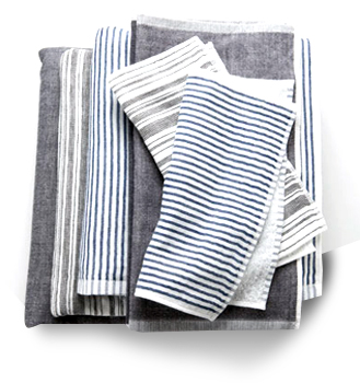 Yoshii Towel | PINK TARTAN | A smart sophisticated collection designed by Kim Newport-Mimran