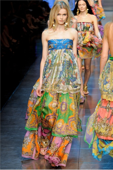 D&G - Spring Summer 2012 Ready-To-Wear - Shows - Vogue.it
