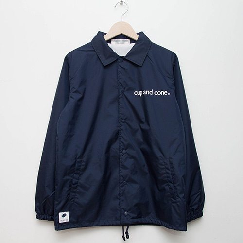 Bikeage Coaches Jacket - Navy - cup and cone WEB STORE