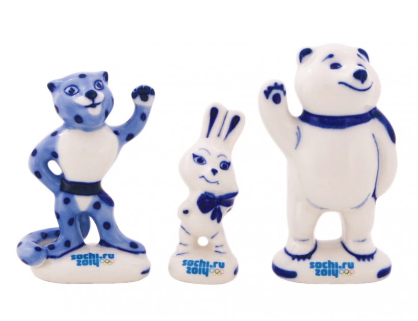 Sochi 2014 Mascot Collection - Polar Bear, Leo and Hare to purchase the official online store of the Sochi Olympics 2014