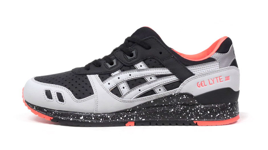 "GEL-LYTE III ""LIMITED EDITION"" BLK/GRY/S.PINK アシックスタイガー ASICS Tiger 