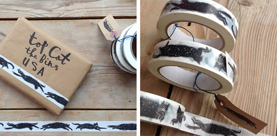 Cat Sticky Tape by Charlotte Farmer — hauspanther