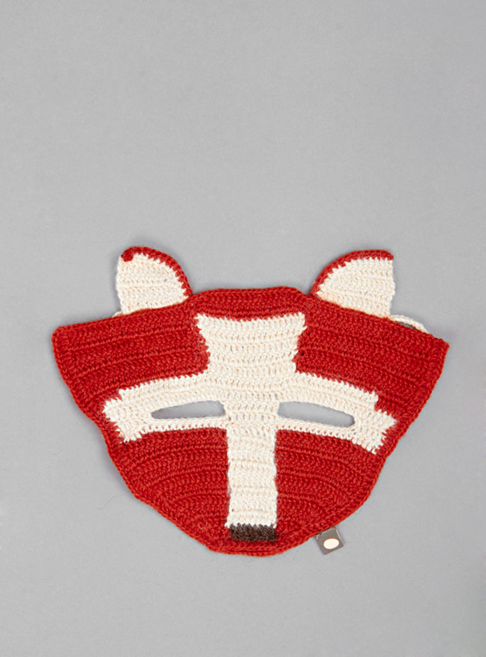 Couverture and The Garbstore - Childrens - Oeuf - Baby Alpaca Fox Mask