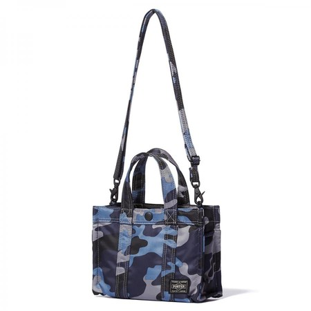"""JUNGLE"" 2WAY TOTE BAG (XS) DARK NAVY"