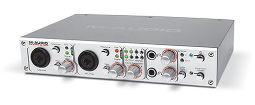 Amazon.com: M-Audio FireWire 410 4-In / 10-Out FireWire Mobile Recording Interface: Musical Instruments