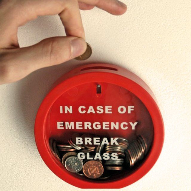 Fancy - Emergency Break Glass Money Box
