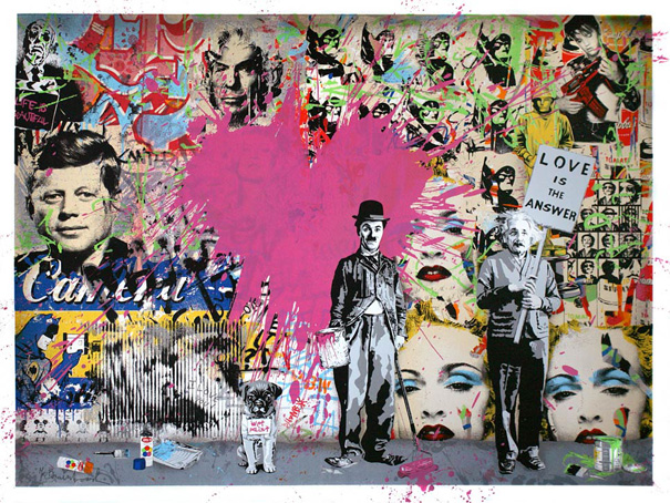 Buy Juxtapose - Mr. Brainwash - ArtinthePicture.com shop