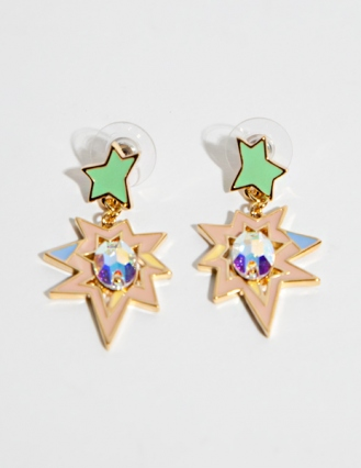 Kapow earrings [Klo6723] - ¥7536 : Pixie Market, Fashion-Super-Market