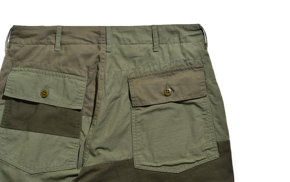 Fatigue Pant-Cotton Ripstop-Olive