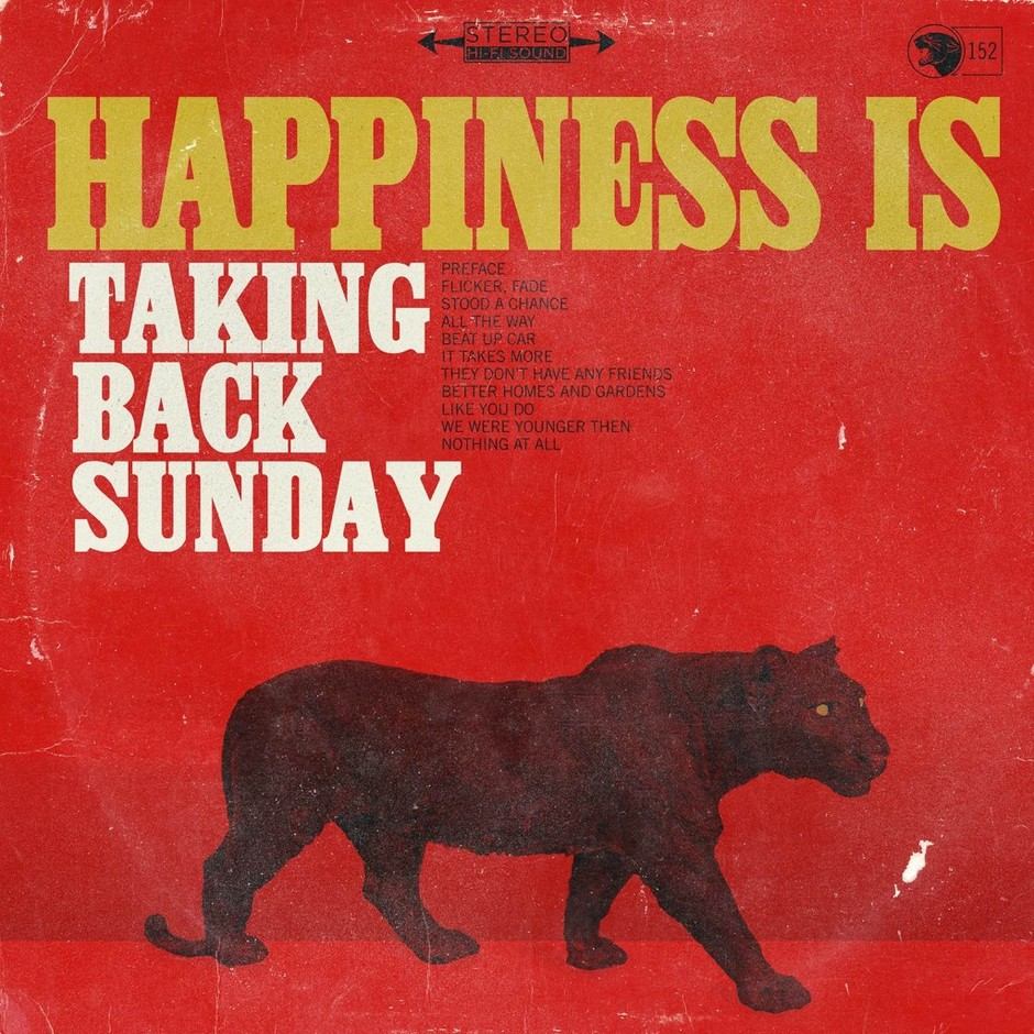 Hopeless Records » Blog Archive » Taking Back Sunday To Release New Album, Happiness Is, On March 18th